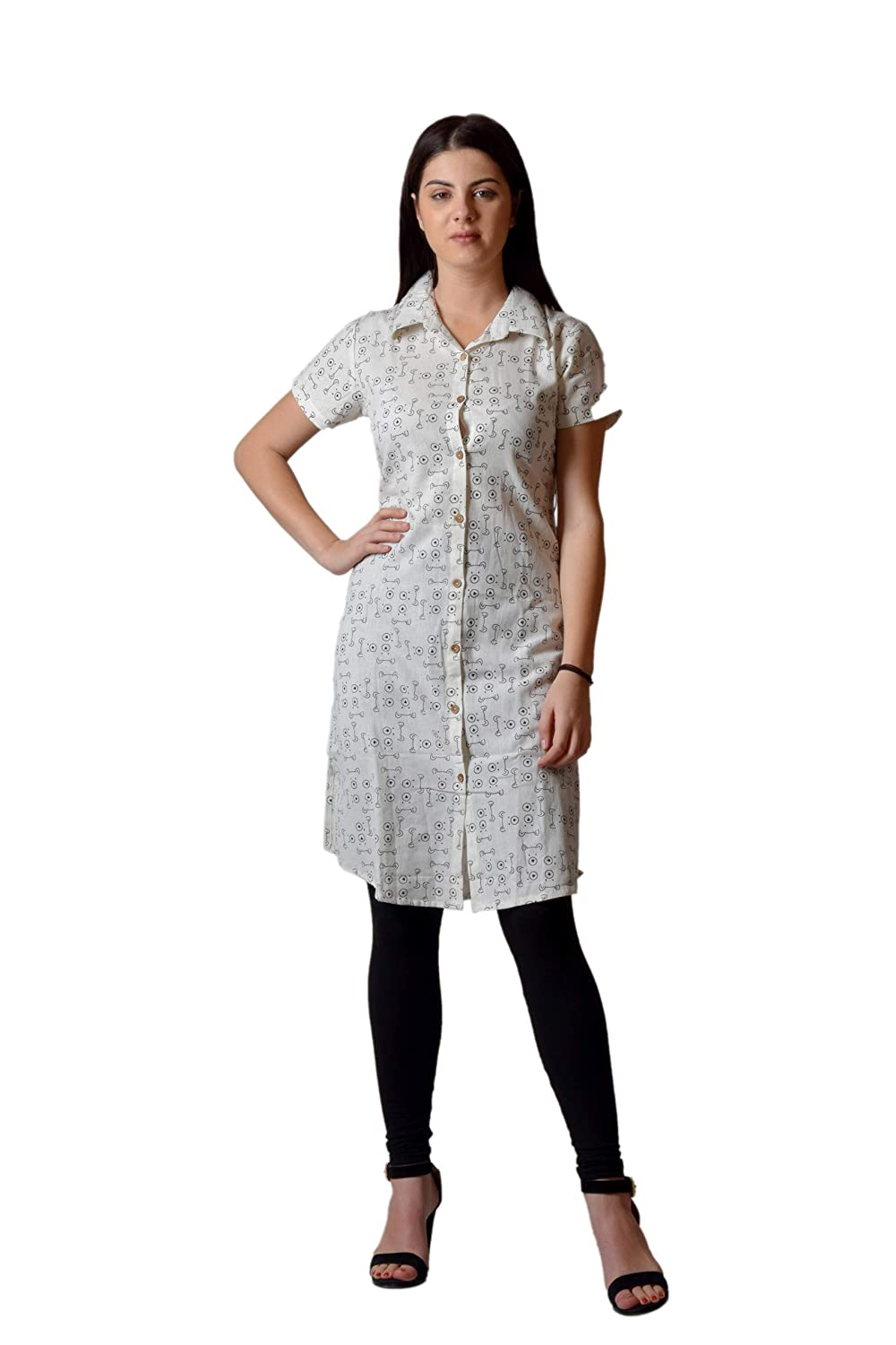 719be63abefe4 AA Trendz Printed Top for Women Girls Western wear Tunic Top for Jeans