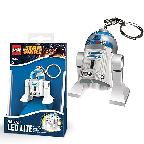 Llavero Lego Star Wars - R2D2 con luz LED: Amazon.es ...