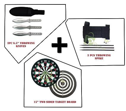 Amazon.com: Práctica Combo Set 3pc Throwing Cuchillos ...