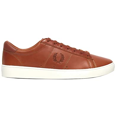 Fred Perry Sneakers for Men Cuir Marron. Spencer Leather Tan. Sneaker (45 EU bd2a6a472834