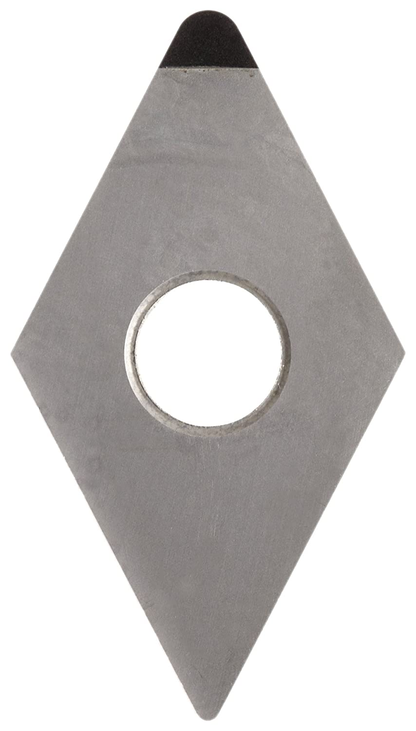 American Carbide Tool Polycrystalline Diamond Tipped Insert PCD15 Grade DNGA-433 Style 1//2-Inch IC Size