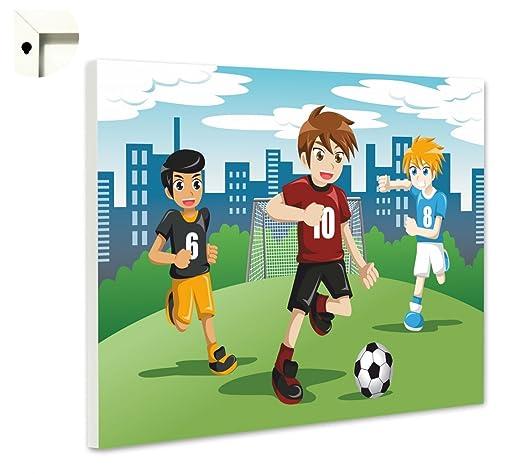 Pizarra magnética tablón Memo Tarjeta con Diseño de niños de balón ...