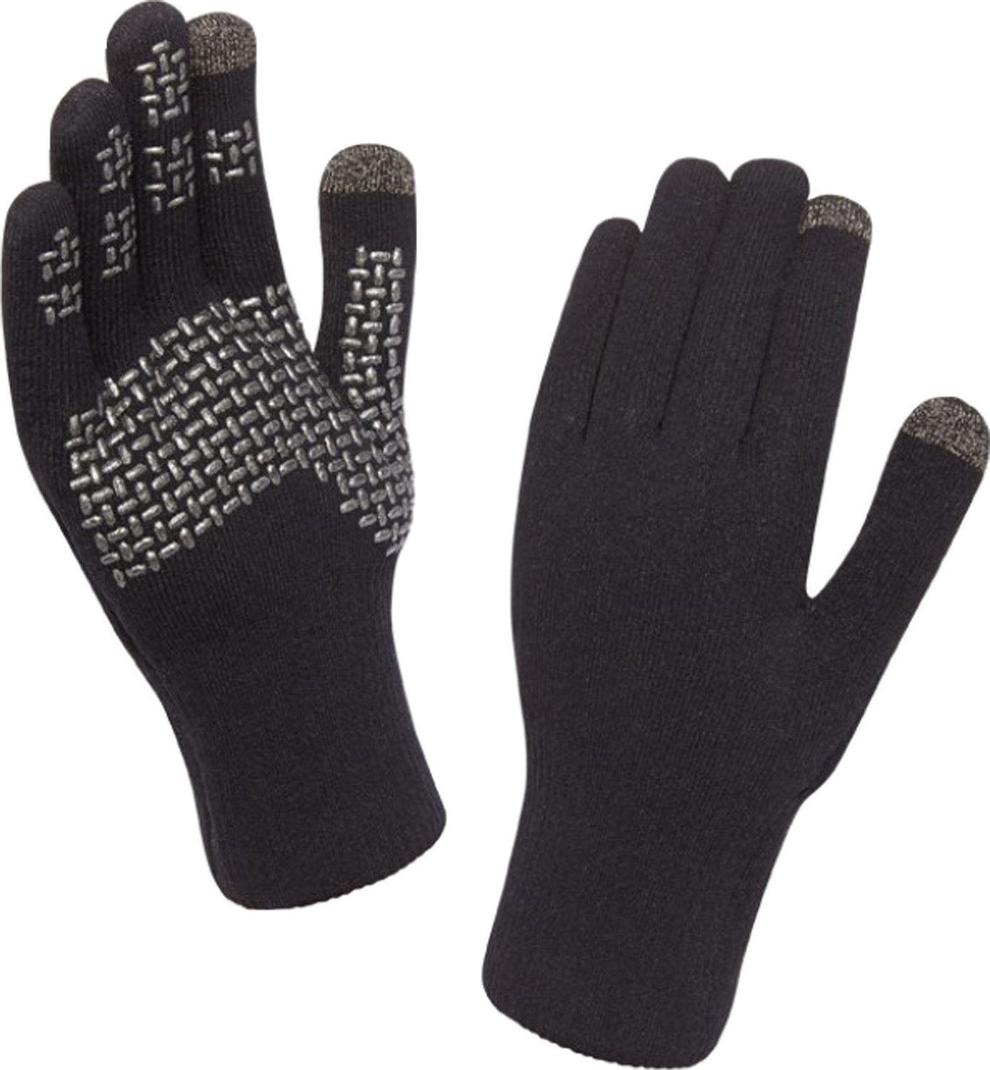 Sealskinz - Ultra Grip Touchscreen Glove, Color Plateado, Talla L: Amazon.es: Deportes y aire libre