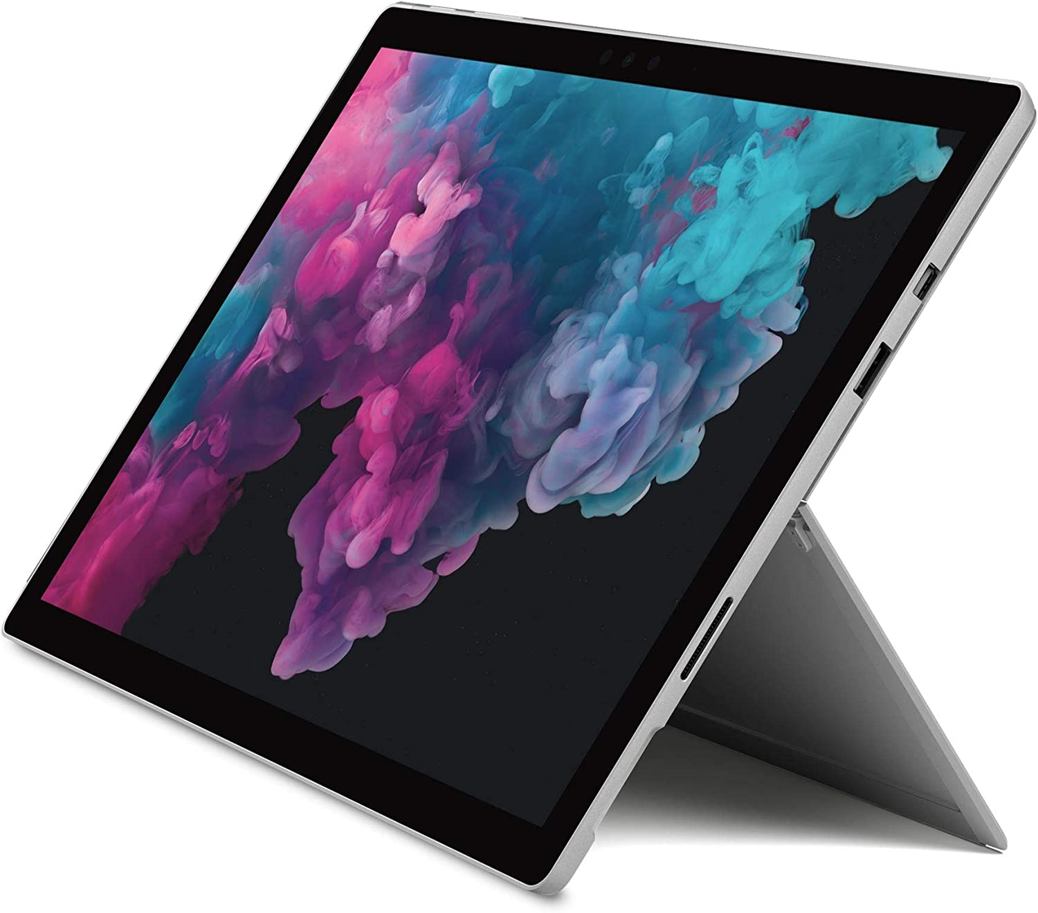 Microsoft Surface Pro 6 - Ordenador portátil 2 en 1, 12.3'' (Intel Core i5-8250U, 8GB RAM, 128GB SSD, Intel Graphics, Windows 10 Home) Color Plata