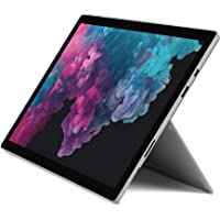 Microsoft Surface Pro 6 Tablet, Processore Core i5, 8 GB di RAM, SSD da 128 GB, Platino