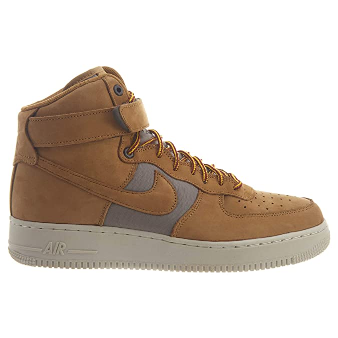 save off 62602 6fadc Amazon.com   Nike Air Force 1 High Premier Beef and Broccoli Pack Mens    Fashion Sneakers