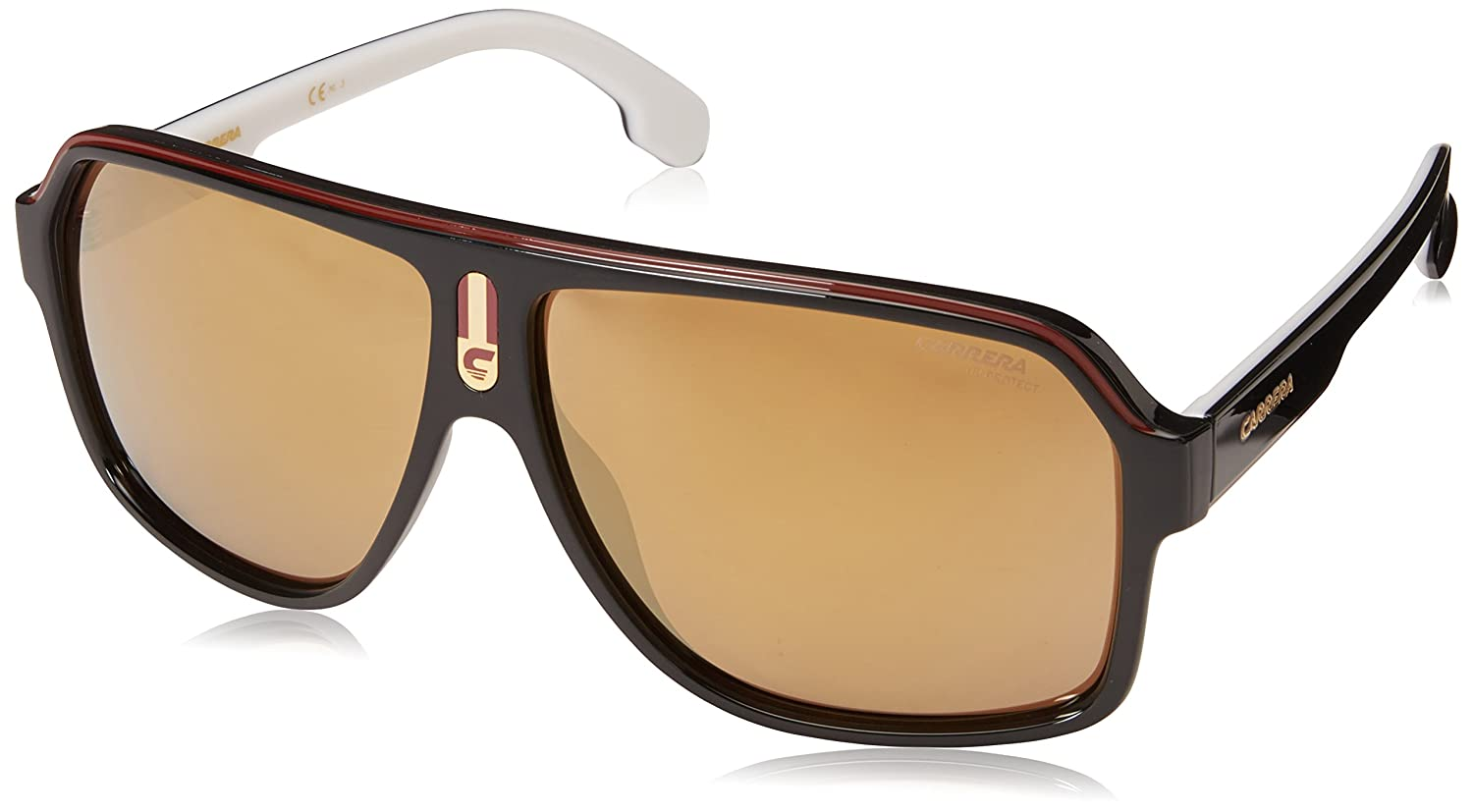 6c93b60004 Carrera Men's 1001/s Aviator Sunglasses, Blk Redgd, 62 mm: Carrera:  Amazon.co.uk: Clothing