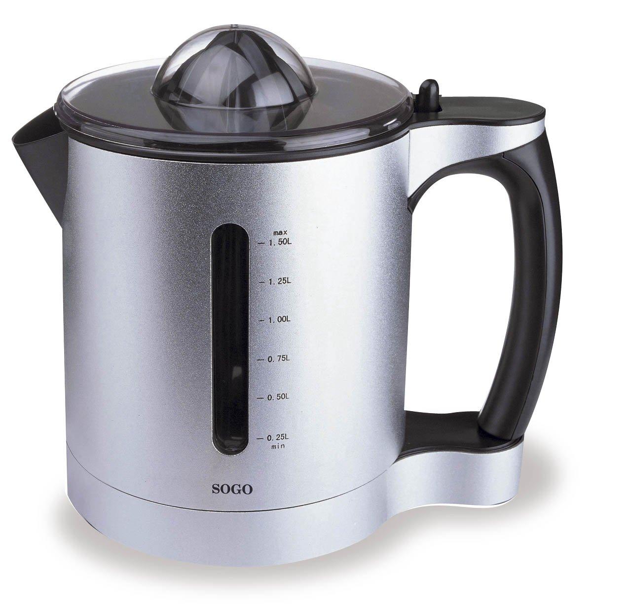 Sogo EXP-SS5201 Exprimidor, 60 W, 1.5 litros, Aluminio: Amazon.es ...