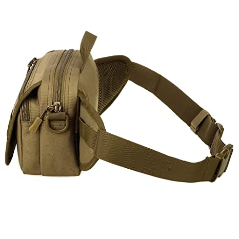 FARMSOLDIER Tactical Military Fanny Bag Outdoors Sports Travel Running Waist Pack for Men and Women Phone Bag Y104
