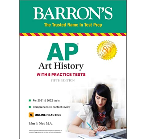 Amazon.com: AP Art History: With 5 Practice Tests (Barron's Test Prep)  (9781506260501): Nici M.A., John B.: Books