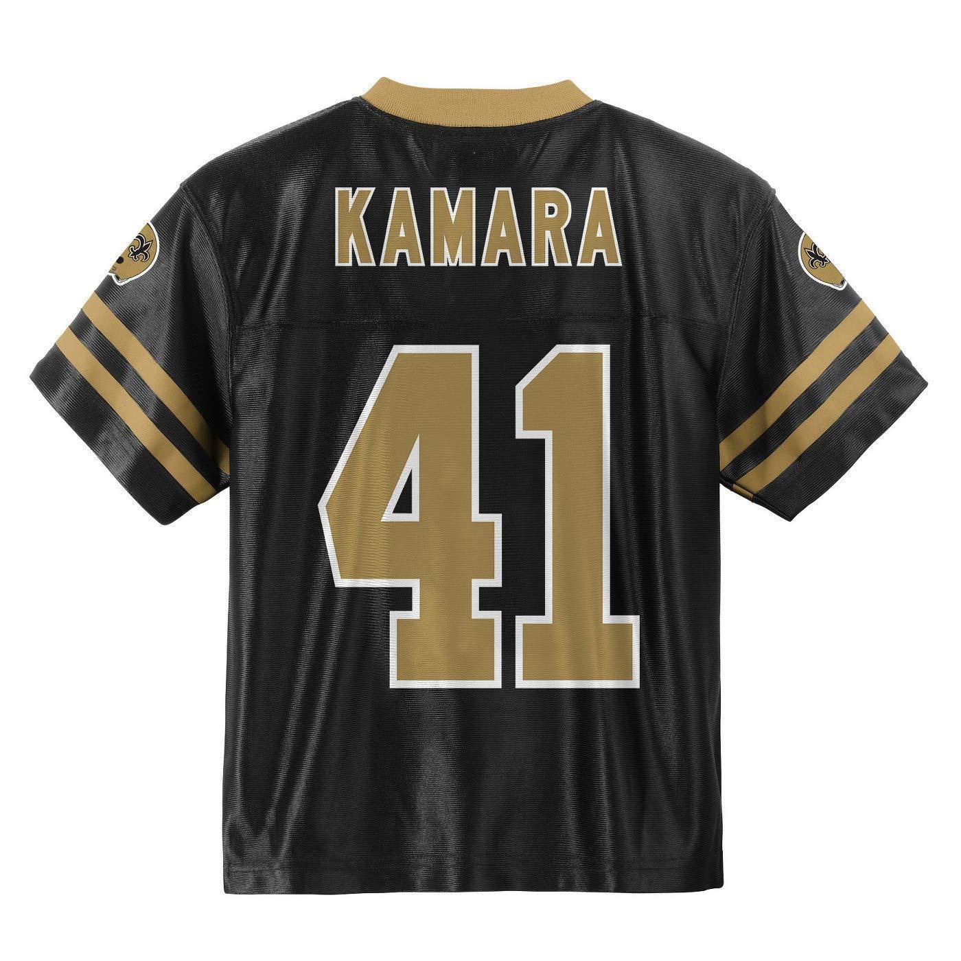 c296ab36d Amazon.com   Outerstuff Alvin Kamara New Orleans Saints  41 Black Toddler  Home Player Jersey (2T)   Sports   Outdoors