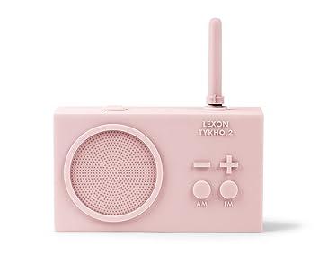 Lexon Tykho 2 Radio Rechargeable Pink Amazon De Kuche Haushalt