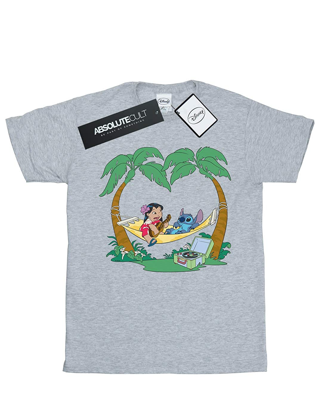 Disney Girls Lilo and Stitch Play Some Music T-Shirt