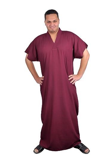 weinrot Farbe bordeux Egypt Bazar Moderner Herren Kaftan