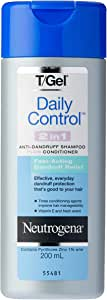 T/Gel Daily Control 2-in-1 Anti-Dandruff Shampoo Plus Conditioner 200mL