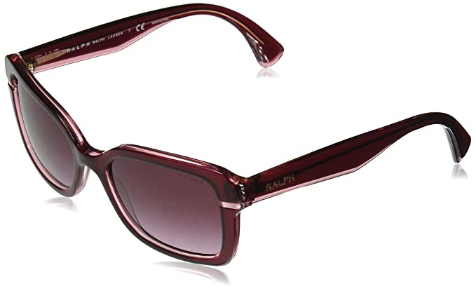 Ralph 0Ra5239, Gafas de Sol para Mujer, Burgundy Violet, 54 ...