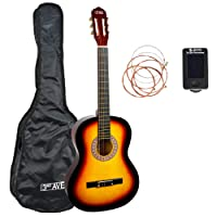 3rd Avenue 3/4 Size Classical Guitar Starter Pack - Sunburst