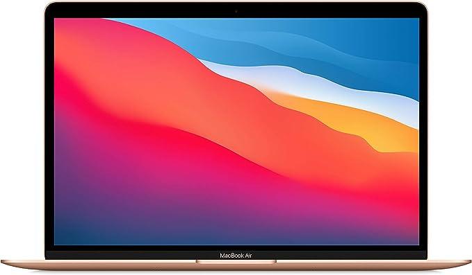 New Apple MacBook Air with Apple M1 Chip(13-inch, 8GB RAM, 512GB SSD Storage) - Gold (Latest Model) | Amazon