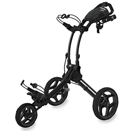 Rovic ROV1C Carros De Golf, Unisex Adulto, Negro, Regulable