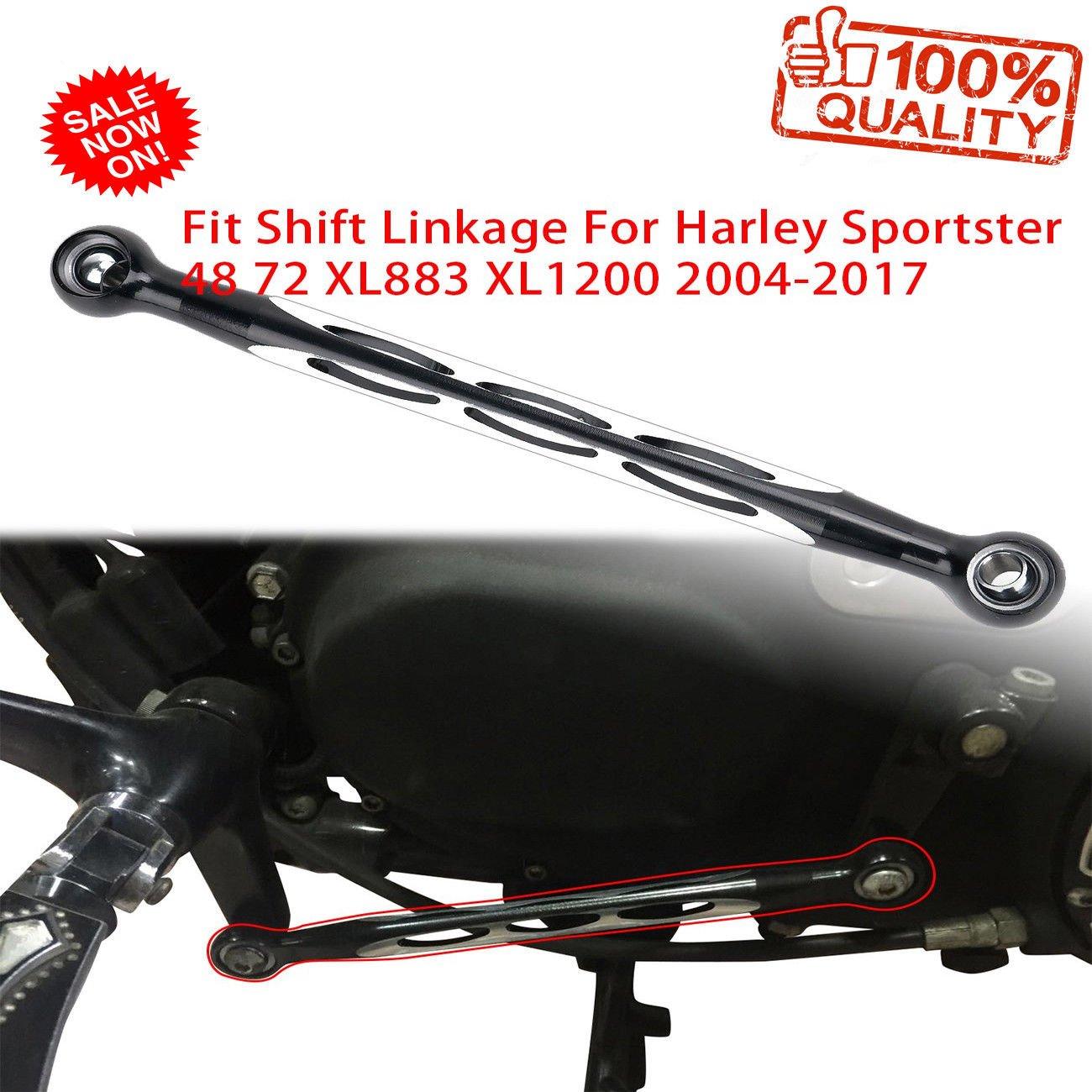 Gear Shift Linkage For Harley Sportster 48 72 XL883 XL1200 2004-2017 BOXWELOVE