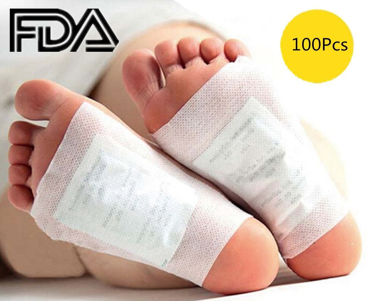 Foot Pads - 100 Adhesive Sheets and 100 Foot Pads