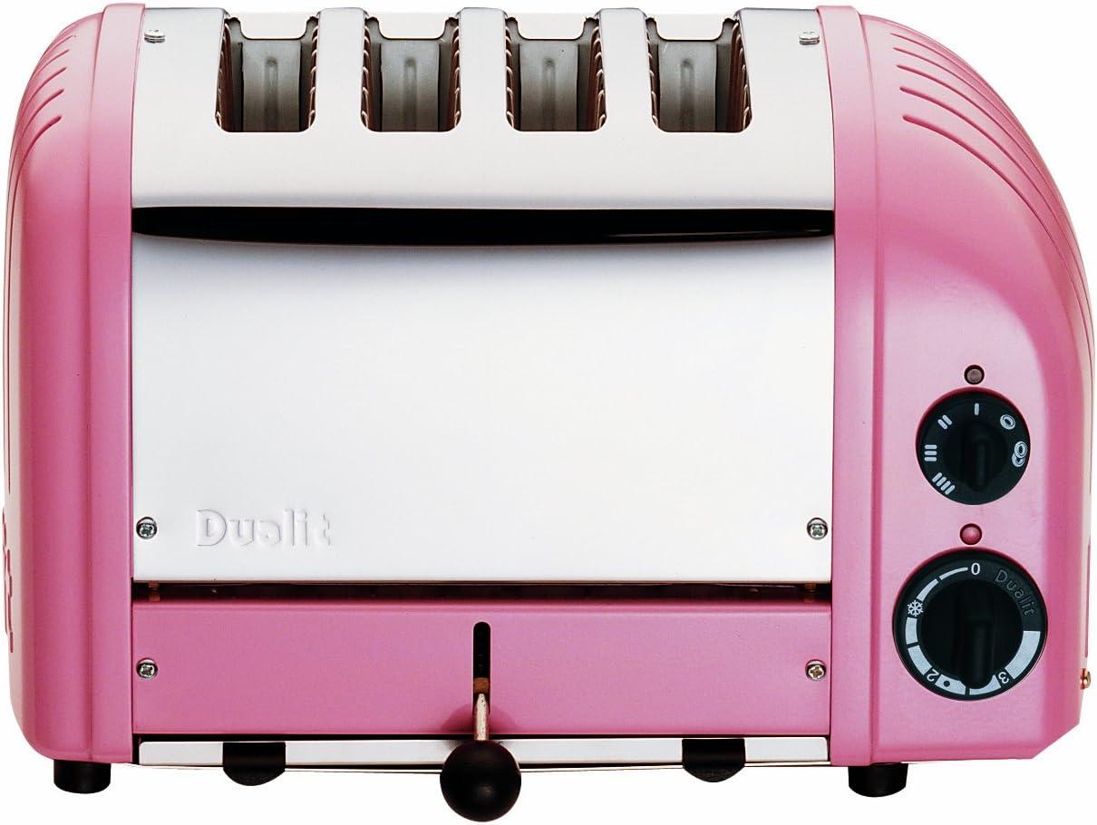 Dualit 4-Slice Toaster, Petal Pink