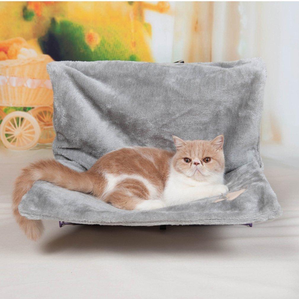 Tofern Letto per gatto da appendere al radiatore e Pet-Amaca con telaio per gatto