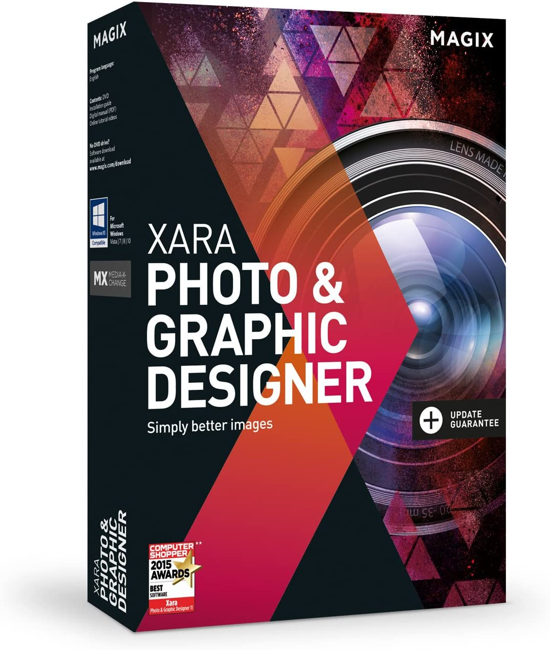 Amazon Com Xara Photo Graphic Designer Version 15 Graphic Design Image Editing And Illustration In A Single Software Solution Software