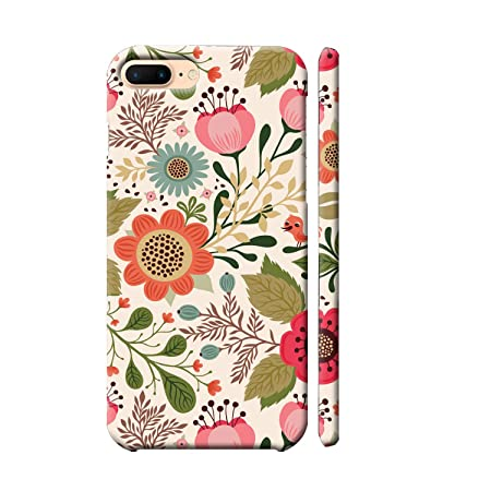 Clapcart Apple iPhone8 / iPhone7 Designer Printed Back Cover for Apple iPhone 8 / iPhone 7   Multi Color  Flower Pattern  Cases   Covers