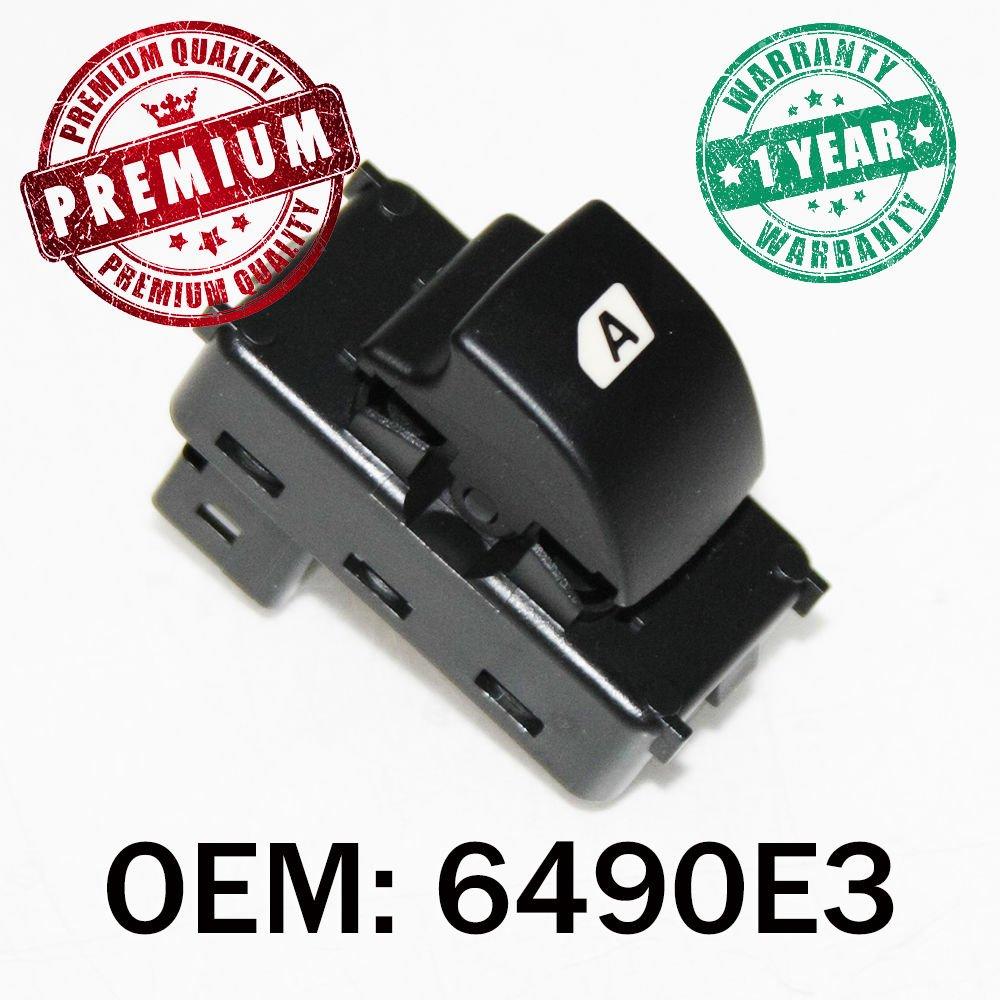 Fenster Schalter Button Beifahrerseite OEM 6490e3