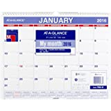 AT-A-GLANCE Monthly Wall Calendar 2016, 12 Months, 14-7/8 x 11-7/8 Inch Page Size (PM828)