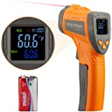Inkbird Infrared Thermometer INK-IFT01, Non-Contact Digital Laser Temperature Gun IR Thermometer, Adjustable Emissivity & Max