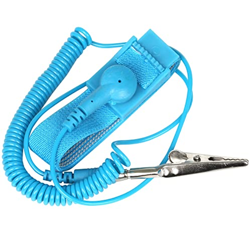 Anti Static Esd Cable Kit Incl Uk Grounding Plug Wrist