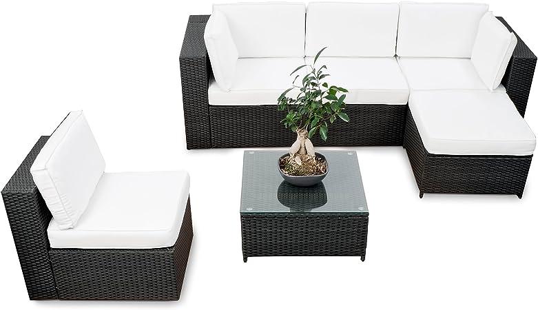 Wetterfester Sessel LINDERHOF Kunststoff weiss