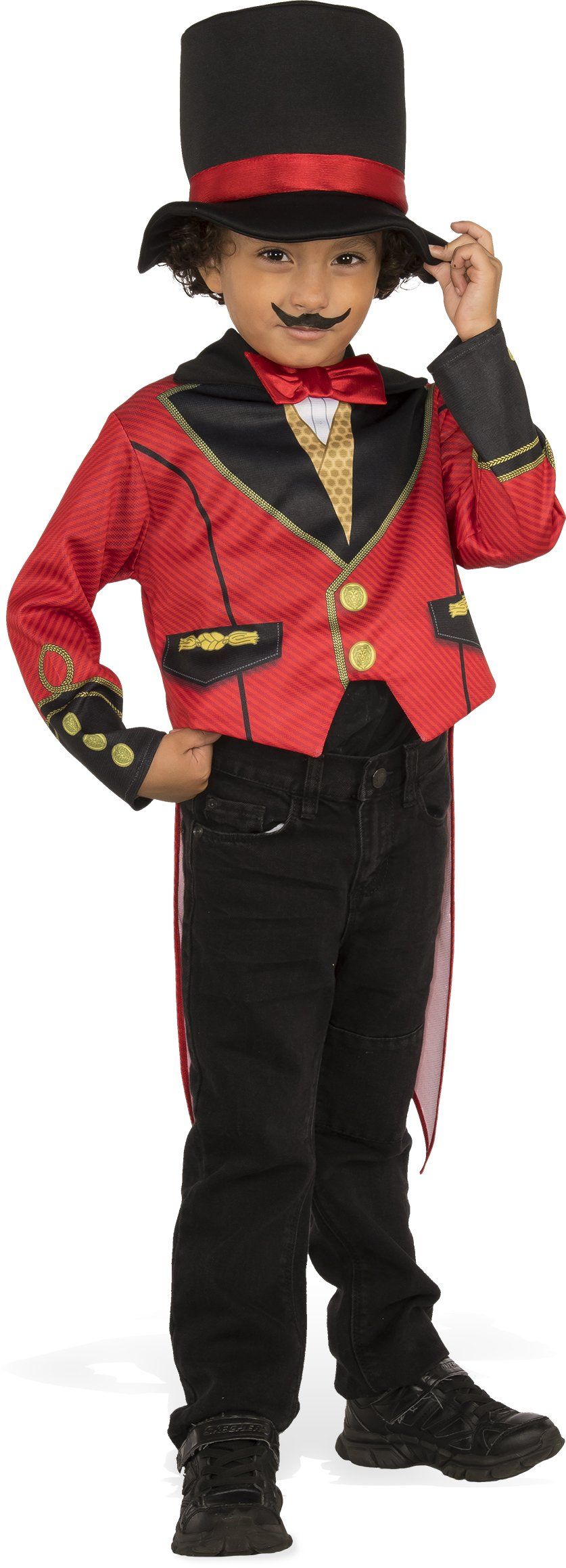 Rubies Child's Ringmaster Costume, X-Small, Multicolor