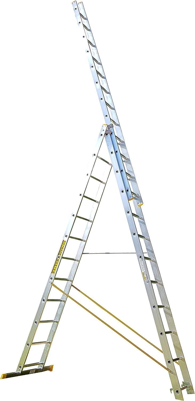 11 BPS access solutions-in-One TRADE MASTER escalera extensible, escalera y pie Rebecca hose PLUS Burton wire: Amazon.es: Bricolaje y herramientas