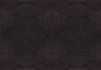 Piel vegana de corcho / Tela de corcho para hacer manualidades, monederos, etc. Alternativa vegana al cuero - 50 cm x 35 cm - Varios colores (Negro)