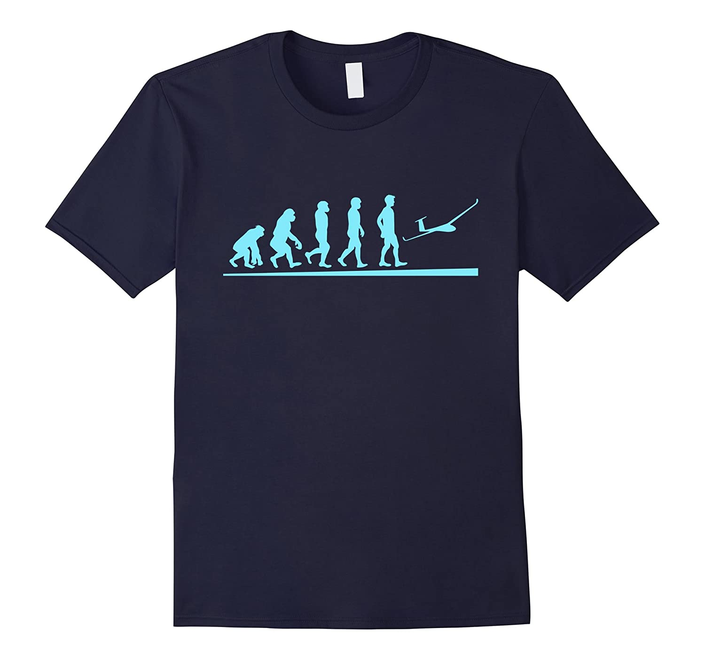 Gliding Sailplane T-shirt - Shirt for Real Glider Pilots-Art