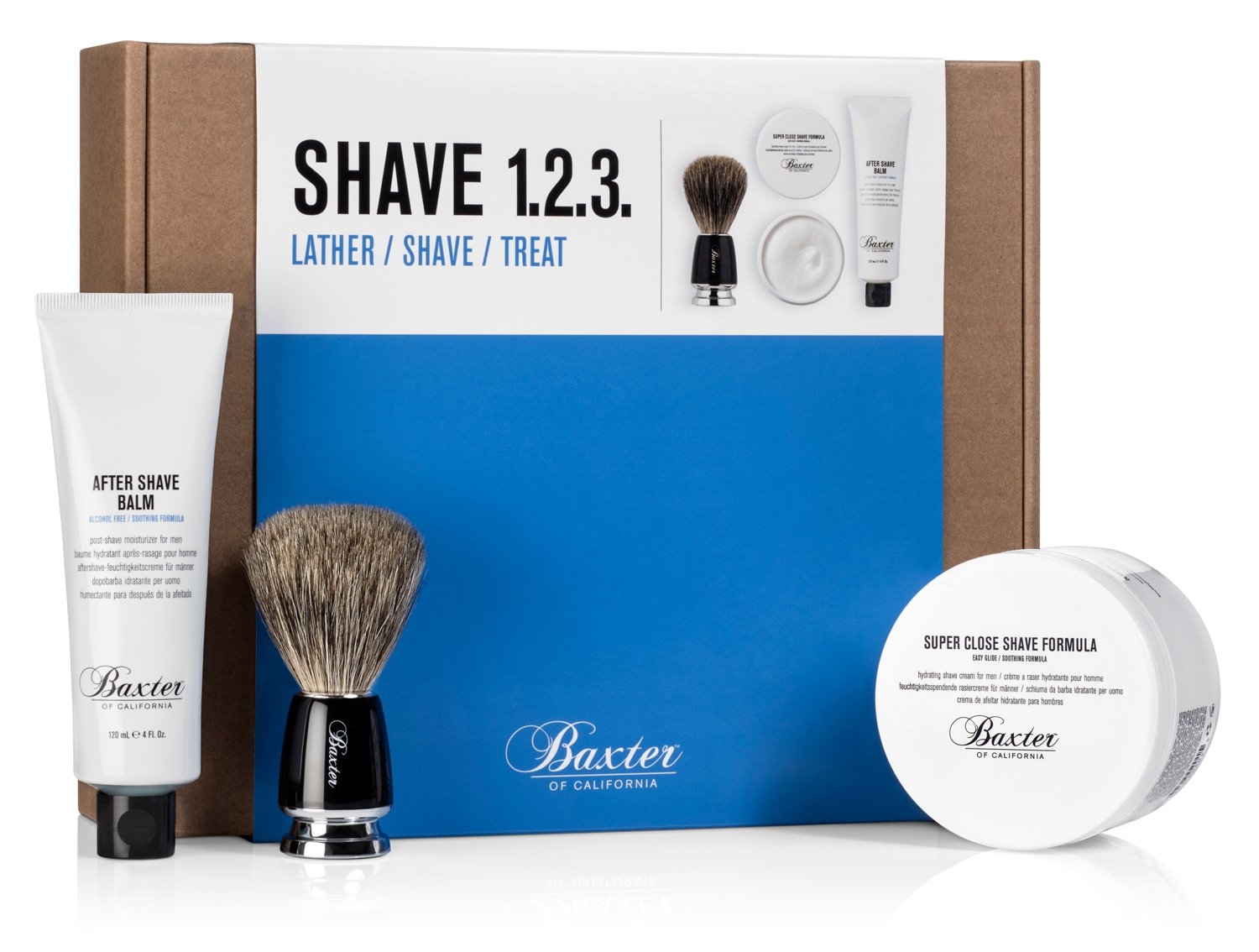 Baxter of California Shave 123 Set, 3 lb. by Baxter of California
