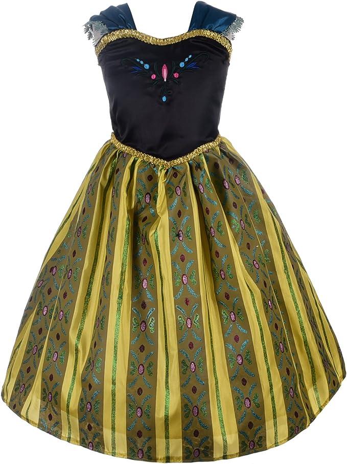 Amazon.com: Vestido de princesa con diseño de margarita de ...