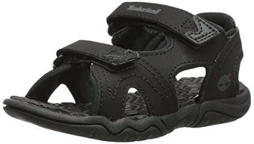 22af054c2a411 Timberland Boy's Adventure Seeker 2 Strap Sport Sandals, Black, 1 M US  Little Kid