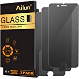 Ailun Screen Protector Compatible with iPhone 8 Plus 7 Plus Privacy Anti Glare 3Pack Tempered Glass