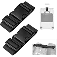 Luxebell Add A Bag Luggage Straps, Suitcase Belt Travel Accessories 2-Pack
