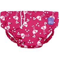 Bambino Mio Reusable Swim Nappy, Pink Flamingo, Large (1-2 Years)