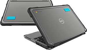 Gumdrop SlimTech Case Designed for Dell 3100 11 Chromebook Clamshell Laptop for Students, Education, Kids, School - Slim, Lightweight, Protection from Bumps and Scratches