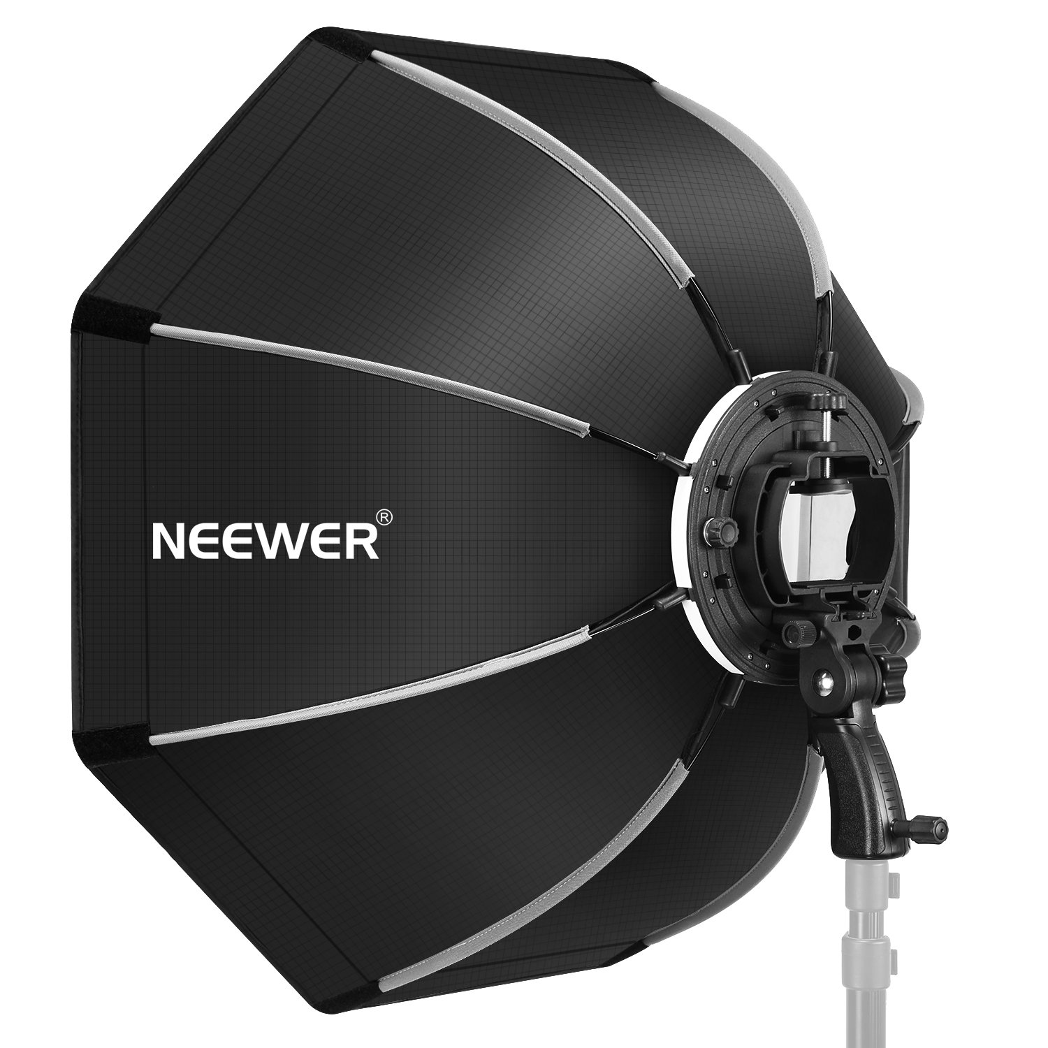 Neewer 26 inches/65 centimeters Octagonal Softbox with S-type Bracket Mount,Carrying Case for Canon Nikon TT560 NW561 NW562 NW565 NW620 NW630 NW680 NW670 750II NW910 NW880 Flash Speedlites by Neewer