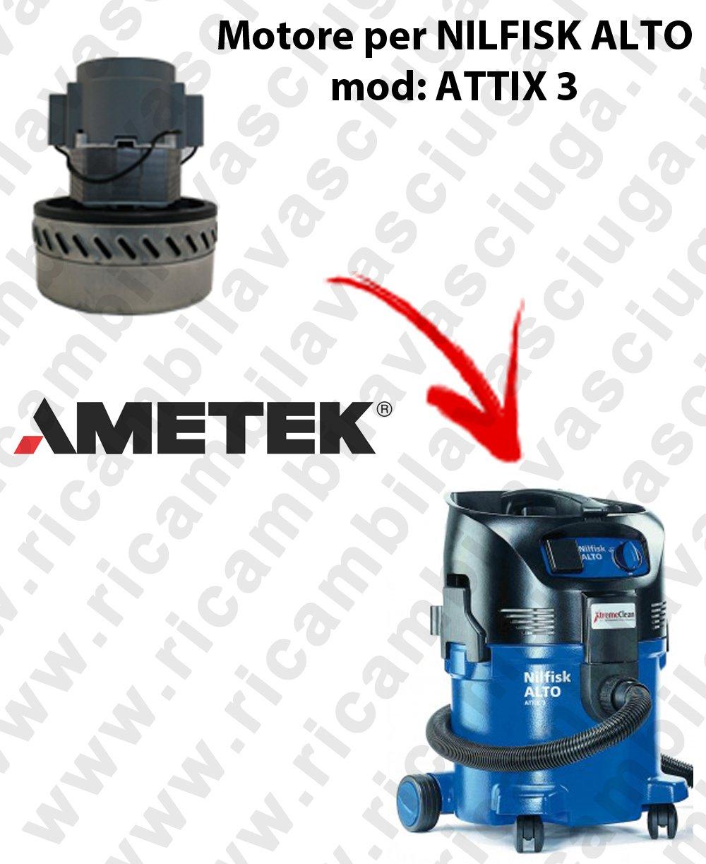 Original DOMEL saugmotor pour Nilfisk Alto Attix 3 Attix 5 Attix 9 1200 watts