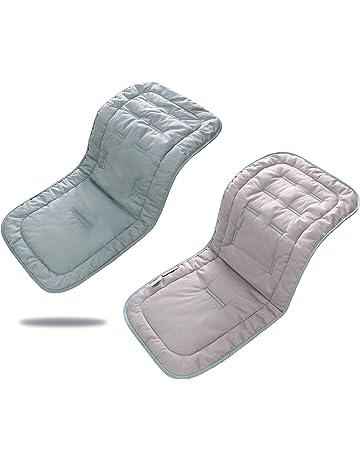 Suave Transpirable bebé algodón puro cochecito asiento maletero - Cambiador portátil, 32 x 80 cm