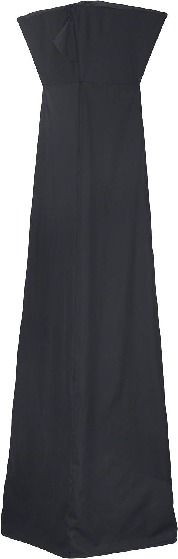 AmazonBasics - Funda para estufa de pie triangular para terraza - Color negro