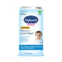 Baby Cold Medicine, Infant Cold and Cough Medicine, Decongestant, Hyland's Baby...